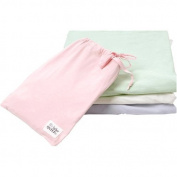 Under the Nile Organic Cotton Fitted Crib Sheet, Pink