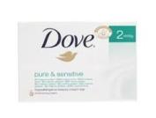 Dove Soap Pure and Sensitive 6 x 100g bars