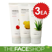 The Face Shop Herb Day 365 Cleansing Foam 3 PCS Set