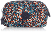 Kipling Toiletry Bag, Pixel Cheque Pr (Multicolour) - K12267F10