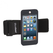 TuneBand for iPod touch 5th/6th Generation, BLACK, Premium Sports Armband with Two Straps and Two Screen Protectors