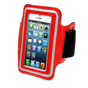 King of Flash Premium Quality iPhone 5 5G Touch 5 5G Soft Armband Case Cover with Key Pocket. Ideal for Gym, Cycling, Jogging & Other Sports Activities