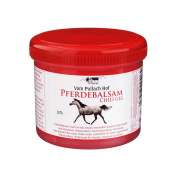 Pferdebalsam Chilli Gel - A Powerful Massage Gel for Back and Joint Pain, Sprains, Strains, Muscle Aches that Totally Relaxes the Muscles and Relives the Stress and Fatigue - Use after an exhausting day in work or any daily workouts in the gym! - 500ml