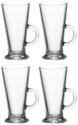 Set Of 4 Entertain Coffee Glasses