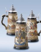 German Beer Stein cities 0.5 litre tankard, beer mug ZO 1786/906V