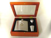Derby County Football Club 180ml Hip Flask Gift Set