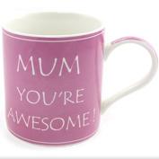 Mum You're Awesome Mug in Matching Gift Box