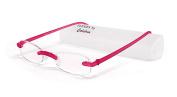 Calabria Reading Glasses - 715 Flexie in Fuschia +2.25