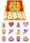 12 x Childrens Kids Temporary Tattoos Transfers Toys Party Loot bag Fillers Princess