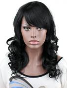 Eseewigs Long Hair Cheap Wigs #1 Jet Black Synthetic Hair Women Wigs