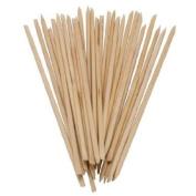 *Beauticom USA Base* BULK Cuticle Wood Stick Pusher Manicure 18cm in Length, 0.3cm Diameter