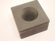 High Density Graphite Mini Conical Mould- Assy Gold Silver Black Sand Cone