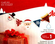 Banner Ornaments Craft Fun Foam Kit Makes 1 Banner