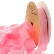 1.6cm Fold Over Elastic Pink 25 Yard