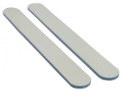 White 80/100 (Blue Ctr) Washable Nail File 12 Pack