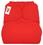 flip Cloth Nappy Cover - Pepper - One Size - Snap
