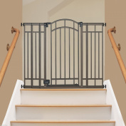 Extra Tall Walk Thru Safety Gate. Pet Dog Toddler Baby Child Stairs Through Wide
