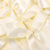 Satin Ribbon Bows For Wedding Pew Gift Box Favours Card Party Decorations DIY