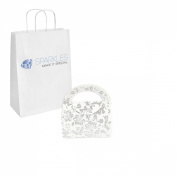 Sparkles Make It Special 100-pcs Purse Favour Candy Boxes Wedding Gift Candy Boxes White