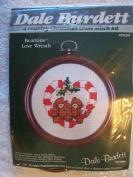 Bearkins Love Wreath Counted Cross Stitch Kit
