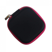 Storage Box, Shensee Zipper Storage Bag Carrying Case for Hard Keep Earphones SD Card Area