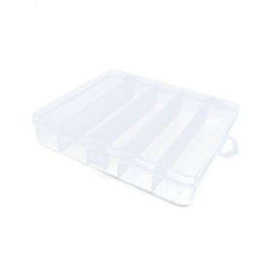 Price per 1 Pieces Arts Crafts Storage Clear Beads Tackle Box Organisers Small Parts Jewellery Findings Cases BOX049