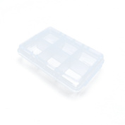 Price per 50 Pieces Arts Crafts Storage Clear Beads Tackle Box Organisers Small Parts Jewellery Findings Cases BOX002