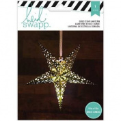 Heidi Swapp 5-Point Star Paper Lantern 28cm -Gold Foil