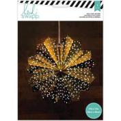 Heidi Swapp 8-Point Star Paper Lantern 43cm -Gold Foil