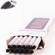 12-piece Student Artist Sketch Drawing Black Charcoal Pencils Set Soft Hardness