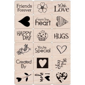 Hero Arts Ink 'n Stamp Tub 7.6cm x 10cm -From The Heart