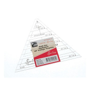 Sew Easy NL4169 | Transparent Triangle Multi-size Quilt Template | 2.5cm - 11cm