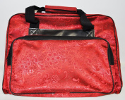 Red Sewing Machine Tote
