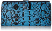 COACH Women's Colour Block Exotic Skinny Wallet