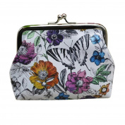 Kingfansion Womens Wallet Card Holder Coin Purse Clutch Handbag