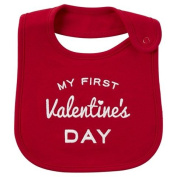 Carter's Just One You My First Valentine's Day Baby Bib