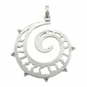 Banithani 925 Sterling Silver Necklace Charm Indian Fashion Solid Pendant Jewellery