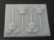 Famous Male Female Mouse Face Hard Candy Lollipop Mould Mickey Minnie