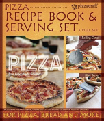Pizzacraft Pizza Recipe Book & 2PC Serving - PC0221 by Charcoal Companion