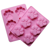 Lovely Cat Paw Silicone Mould Fondant Cake Decorating Tools Silicone Soap Mould Silicone Cake Mould