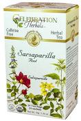 Celebration Herbals Sarsaparilla Root Organic, 24 CT