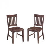 Home Styles 5601-802 Morocco Indoor/Outdoor Dining Pair Arm Chairs