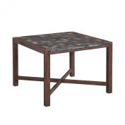 Home Styles 5601-37 Morocco Indoor and Outdoor Square Dining Table