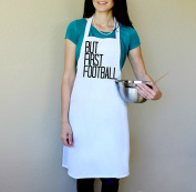 But First Football 100% Cotton Apron