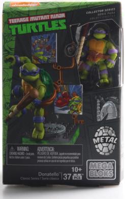 Mega Bloks Teenage Mutant Ninja Turtles Collectors 1987 Classic Donatello Figure