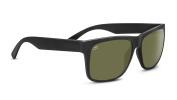 Serengeti Eyewear Sunglasses Positano 8370 Satin Black 555NM Polarised Lens