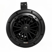 MB Quart(R) Mobile - 15cm Nautic Series 2-Way Wake Tower Speaker with Enclosure, Black