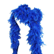 65g 180cm Turkey Chandelle Feather Boas, Over 80 Colours & Patterns to Pick Up