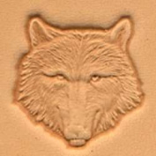 Wolf Head Craftool 3d Stamp Leather Stamping Imprint Tool Tandy Leather 88459-00