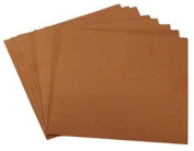 7.6cm x 7.6cm Square 40 Gauge Copper Sheets - 8 Pack